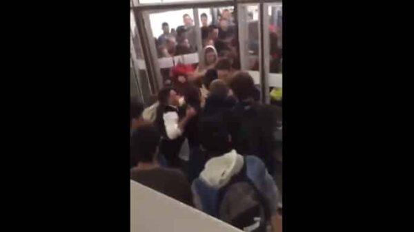 Enfrentamiento en la Universidad Autónoma de Barcelona