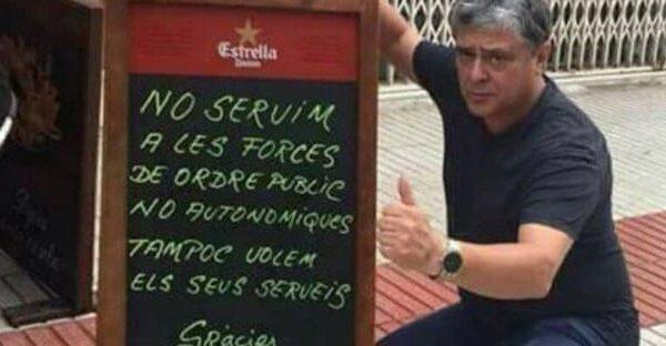 El dueño del bar El Galliner
