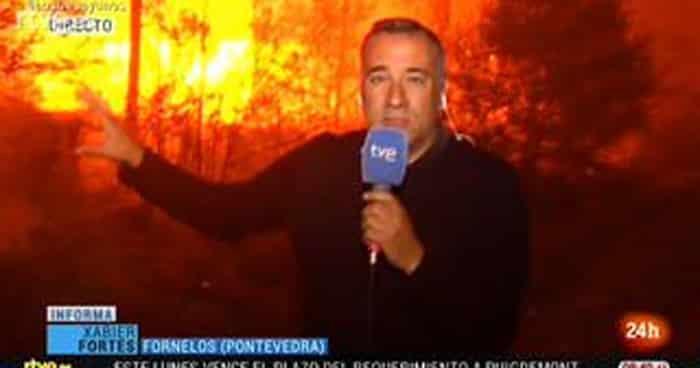 El periodista de TVE Xabier Fortes