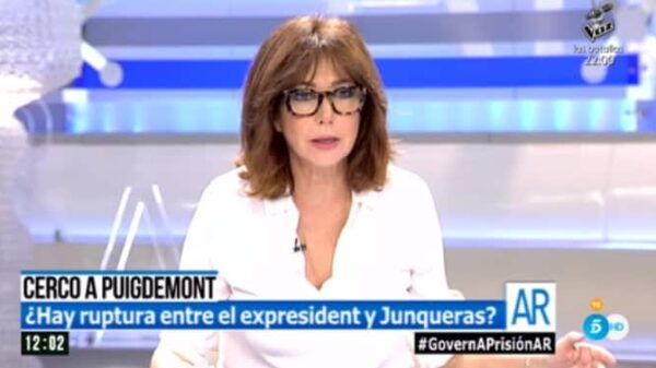 La presentadora Ana Rosa Quintana