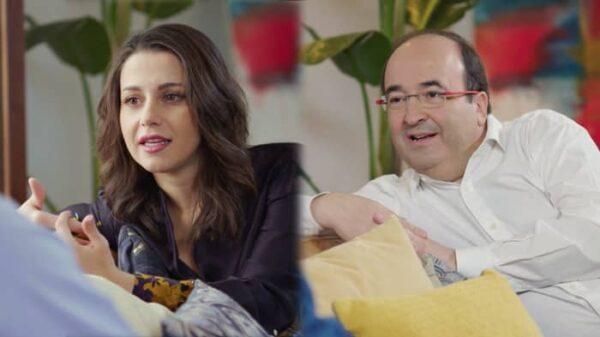 Inés Arrimadas y Miquel Iceta en un adelanto de 'Mi casa es la tuya'