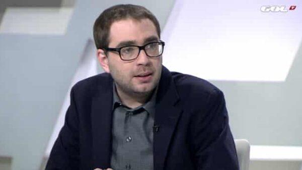 El periodista deportivo Axel Torres
