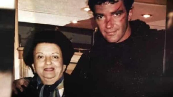 Antonio Banderas y su madre, Ana