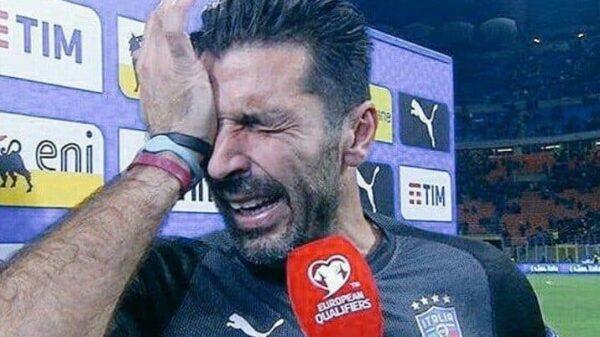 Gianluigi Buffon tras quedarse fuera del Mundial
