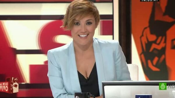 La presentadora Cristina Pardo