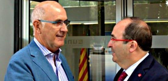 Duran Lleida y Miquel Iceta