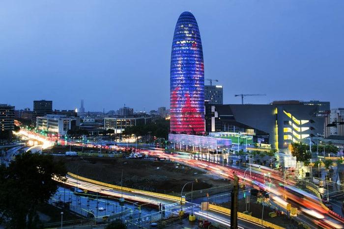La torre Agbar, propuesta como sede de la EMA