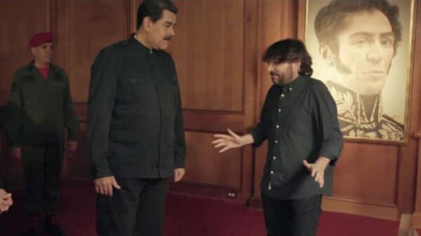 Jordi Évole con Nicolás Maduro