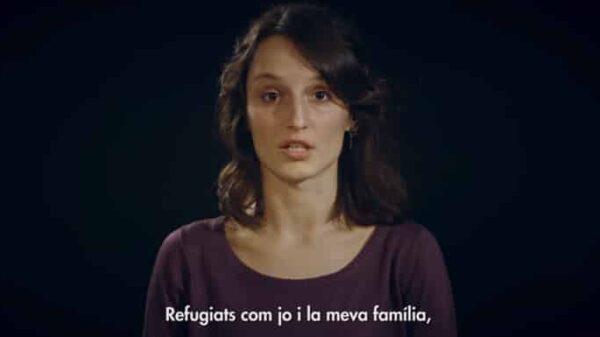 Fotograma del vídeo de Ómnium 'I am catalan'