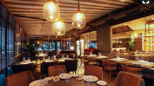 Interior del restaurante LaVaca