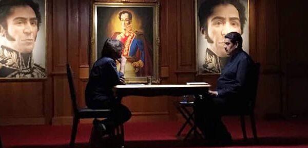 Nicolás Maduro con Jordi Évole en 'Salvados'