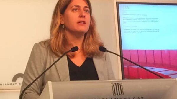 Marta Pascal durante la rueda de prensa de este viernes