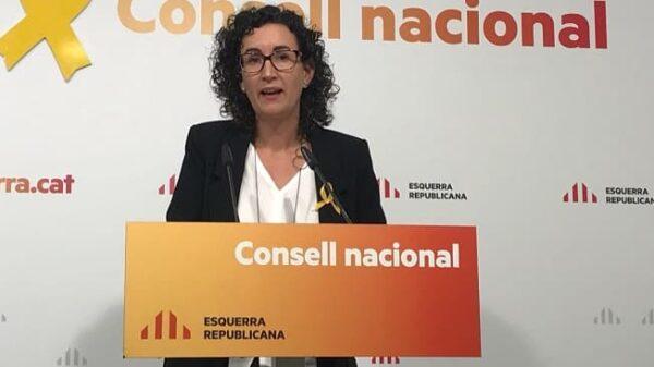 Marta Rovira, número 2 de ERC