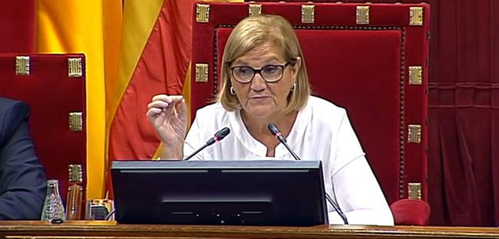 La expresidenta del Parlamento catalán Núria de Gispert