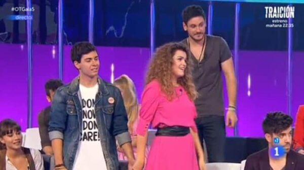 Amaia, Alfred y Cepeda en 'OT'