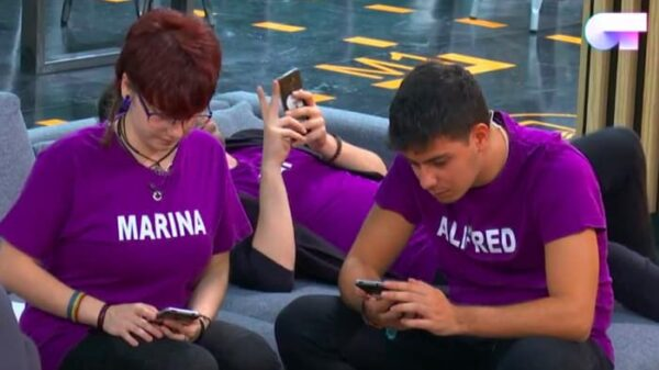 Algunos de los concursantes de 'OT' con móvil