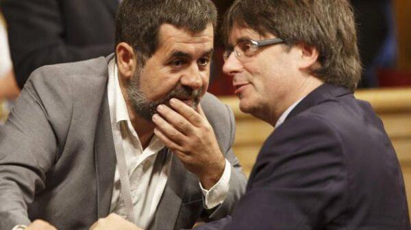 Jordi Sànchez y Carles Puigdemont
