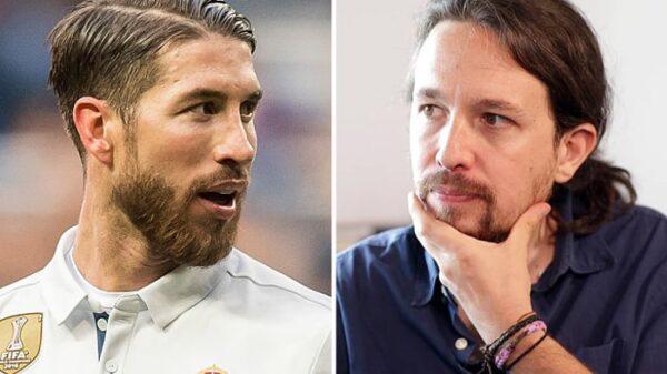 Sergio Ramos y Pablo Iglesias