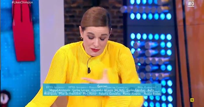 Raquel Sánchez Silva en su último 'Likes'