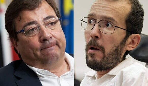 Guillermo Fernández Vara y Pablo Echenique