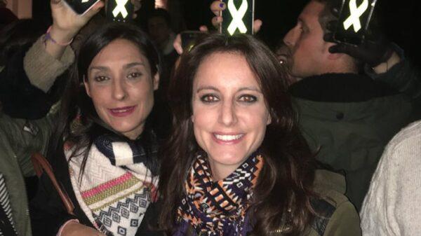 Andrea Levy durante el acto en Sant Fost de Campsentelles
