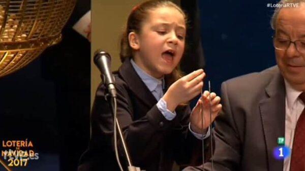 Aya Ben Hamdouch, la niña de la Lotería que ha conquistado