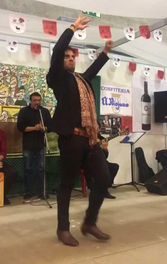 El bailaor Curro de Candela