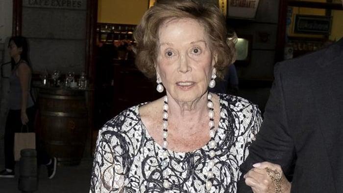 Carmen Franco en una foto de archivo