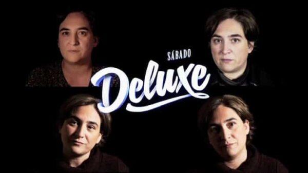 Ada Colau en la promo de 'Sábado Deluxe'