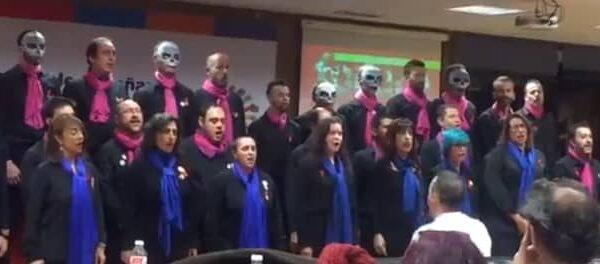 El coro Voces LGTB de Madrid