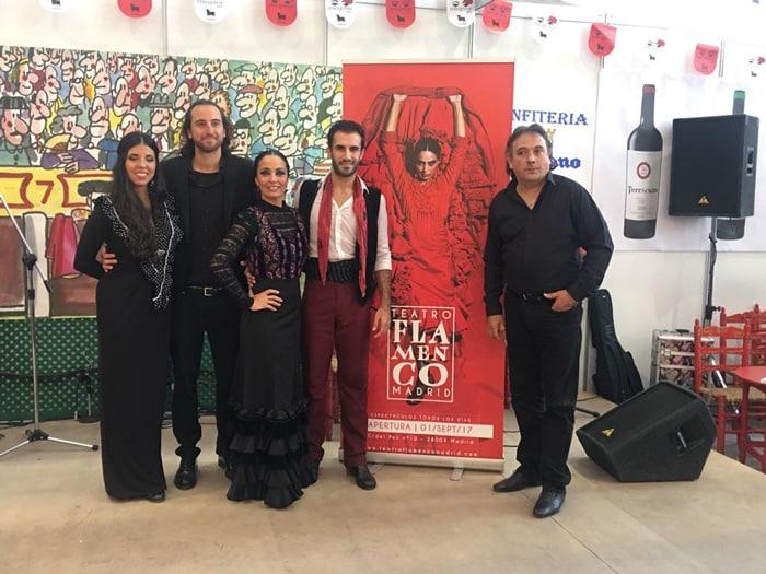 El cuadro flamenco de Úrsula Moreno