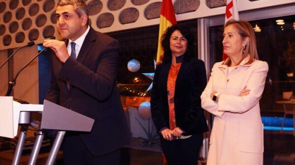Zurab Pololikashvili, Ana Pastor y Matilde Asián (Foto: Miguel Ángel Fernández)