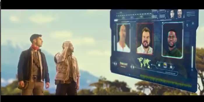 Iniesta y Asensio en un momento del anuncio de 'El clásico'