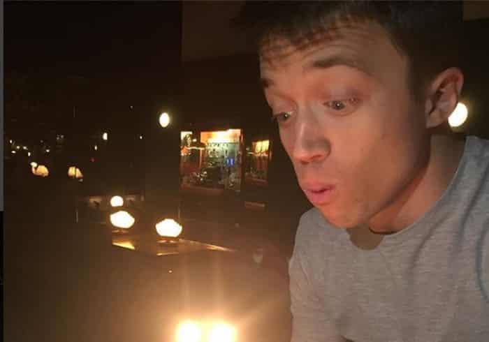 Íñigo Errejón celebrando su cumpleaños