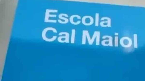 La escuela Cal Maiol
