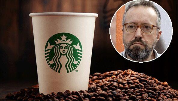 Un café de Starbuks y Juan Carlos Girauta