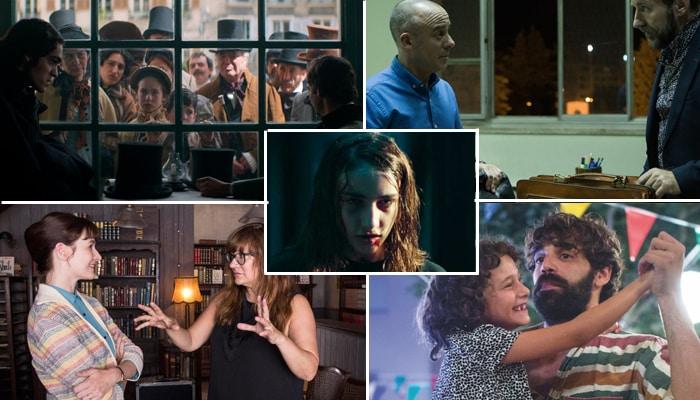 Fotogramas de las cintas nominadas a mejor película en los Goya 2018