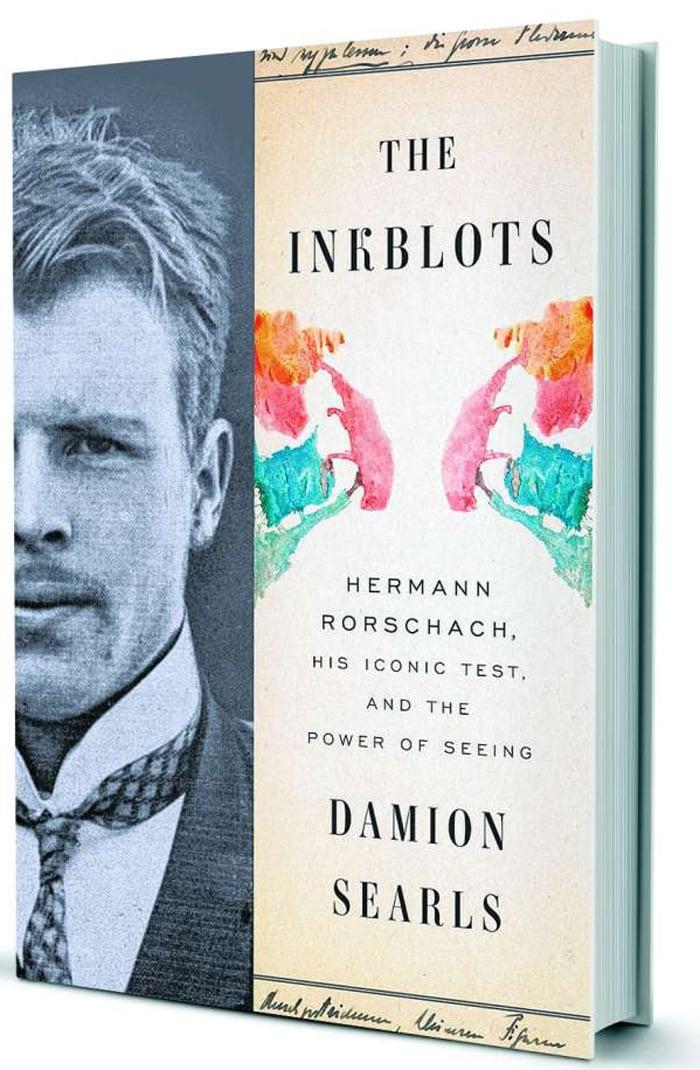 La portada del libro de Damion Searls sobre Hermann Rorschach
