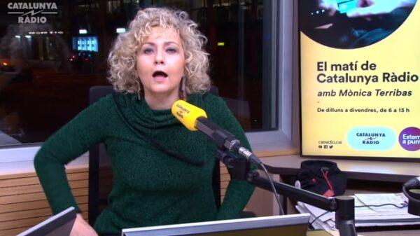 La periodista Mónica Terribas