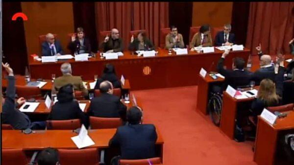 La diputación permanente del Parlamento catalán