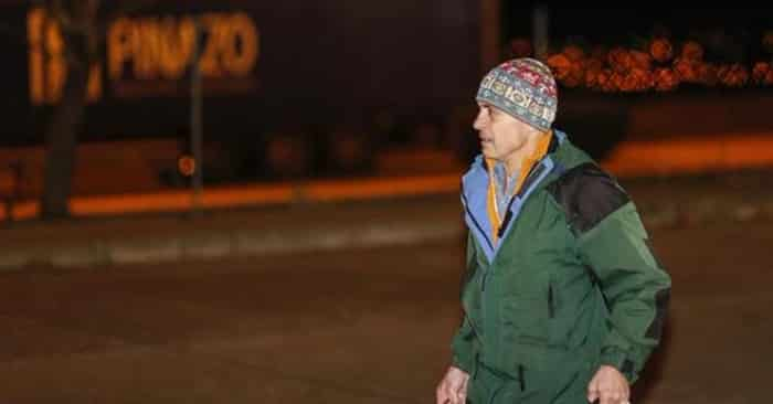 Jordi Pujol Ferrusola saliendo de la cárcel