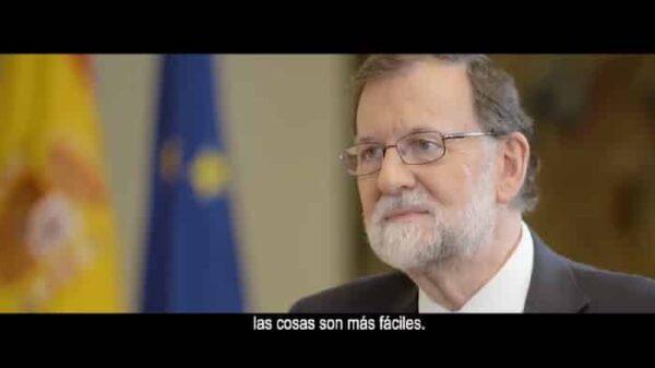 Rajoy en un momento del vídeo 'Mordidas'
