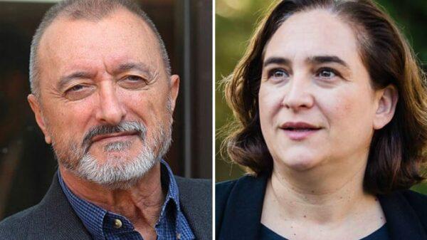 Arturo Pérez-Reverte y Ada Colau