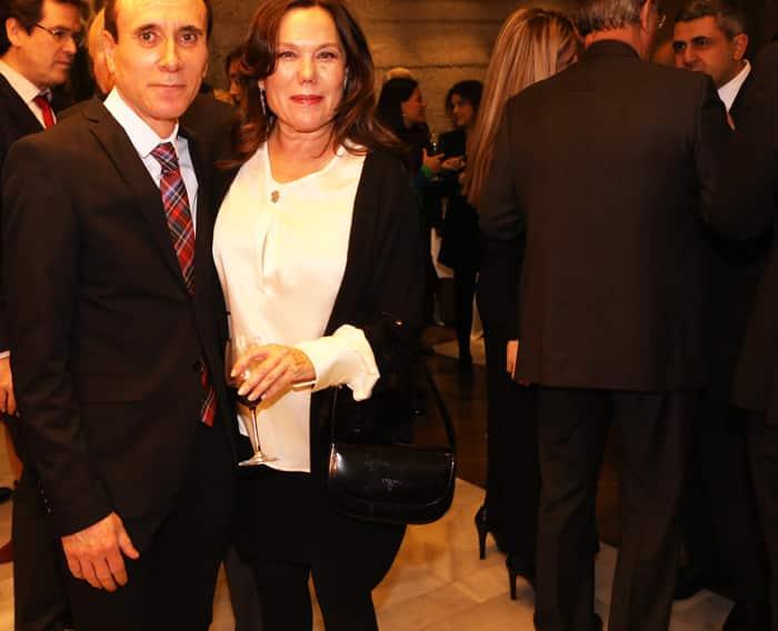 Manuel Romero, director de Voz Libre, junto a Sonia Segura, editora de 'Diplomática Magazine'