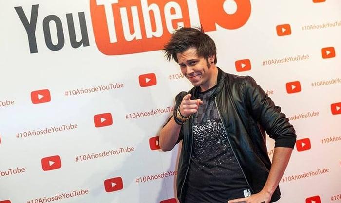 El 'youtuber' español conocido como 'El Rubius'