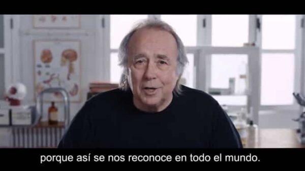 Joan Manuel Serrat en el anuncio de Campofrío
