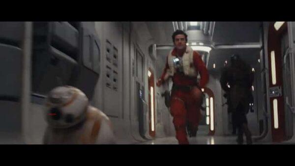 Un fotograma de 'Star Wars: Los últimos Jedi'
