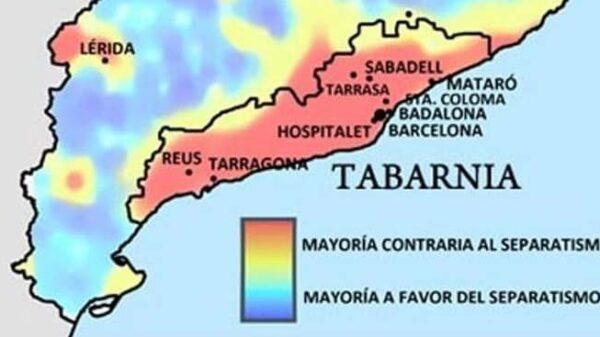 Mapa de Tabarnia