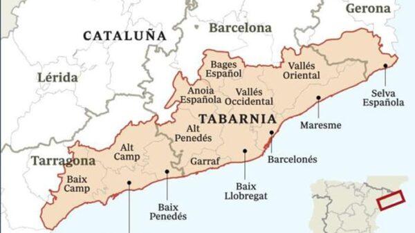 Cómo sería la comunidad autónoma de Tabarnia