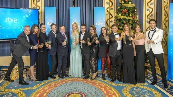 Los presentadores de los especiales de TVE